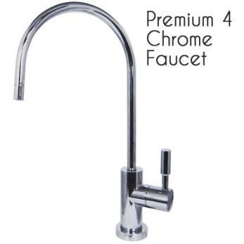 Long Cylinder Swan Neck Faucet 1/4 Turn